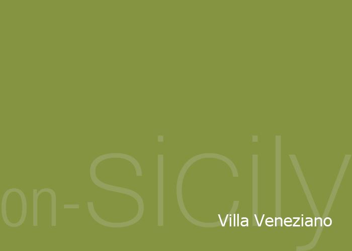 Villa Veneziano in Castellammare del Golfo in Sicily