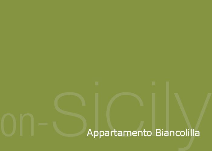 on-Sicily - Appartamento Biancolilla in the Borgo delle olive