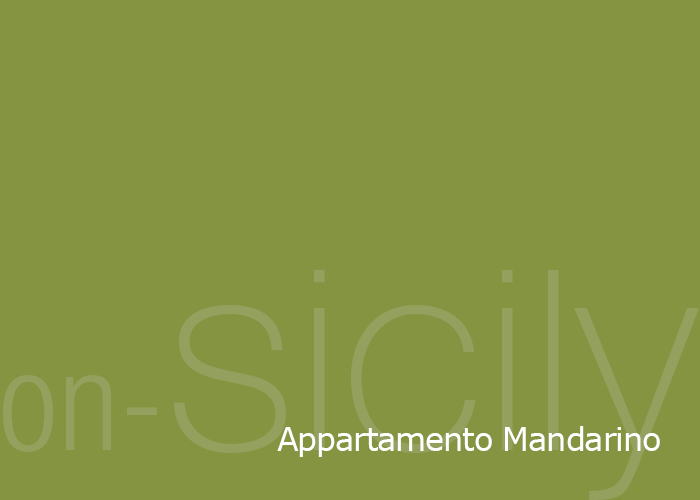 on-Sicily - Appartamento Mandarino in the Sicilian coastal town of Balestrate