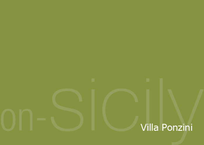 on-Sicily - Villa Ponzini in the Sicilian coastal town of Trappeto