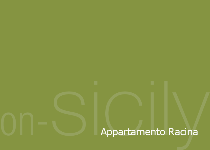 on-Sicily - Appartamento Racina in the Sicilian coastal town of Balestratee