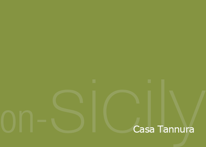on-Sicily - Casa Tannura in the coastal town of Balestrate