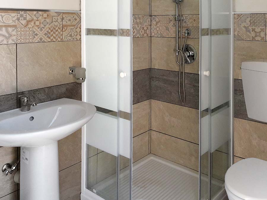 The second bathroom of Casa Chiàppara