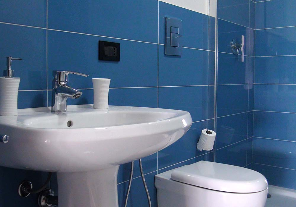 The bathroom of Appartamento Chistu