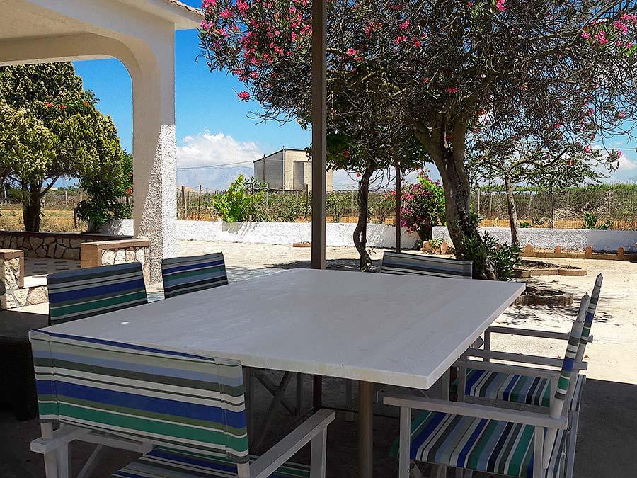 On the terrace of Casa Chiàppara